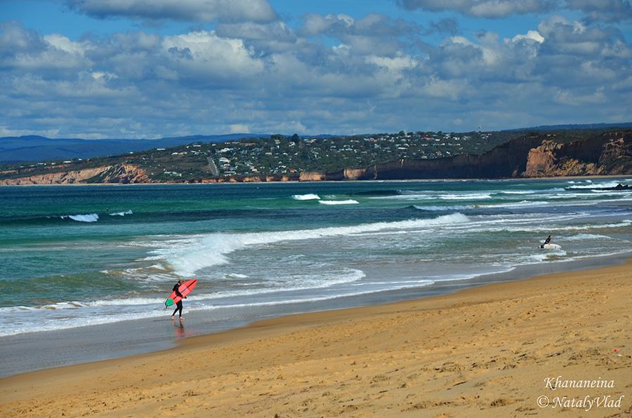 Австралия Пляжи Океан Серфинг