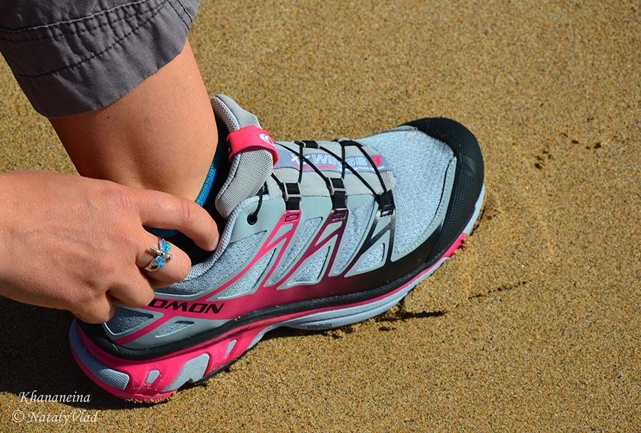 Australia Salomon shoes Beach Ocean