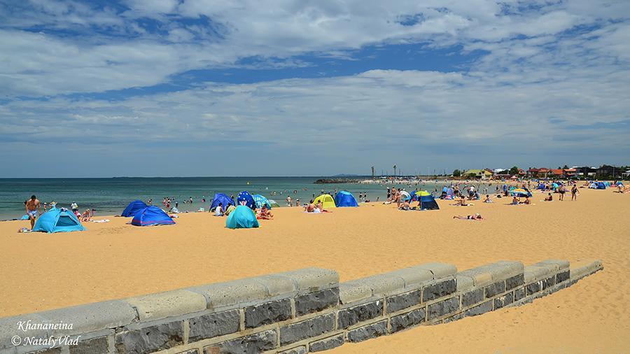 Жизнь в Австралии Пляж Море