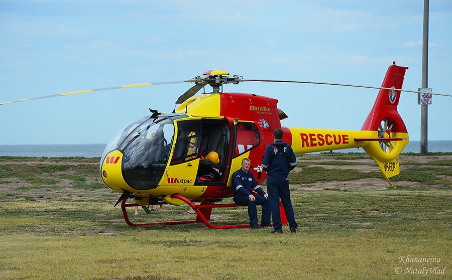Жизнь в Австралии Спасатели Вертолет