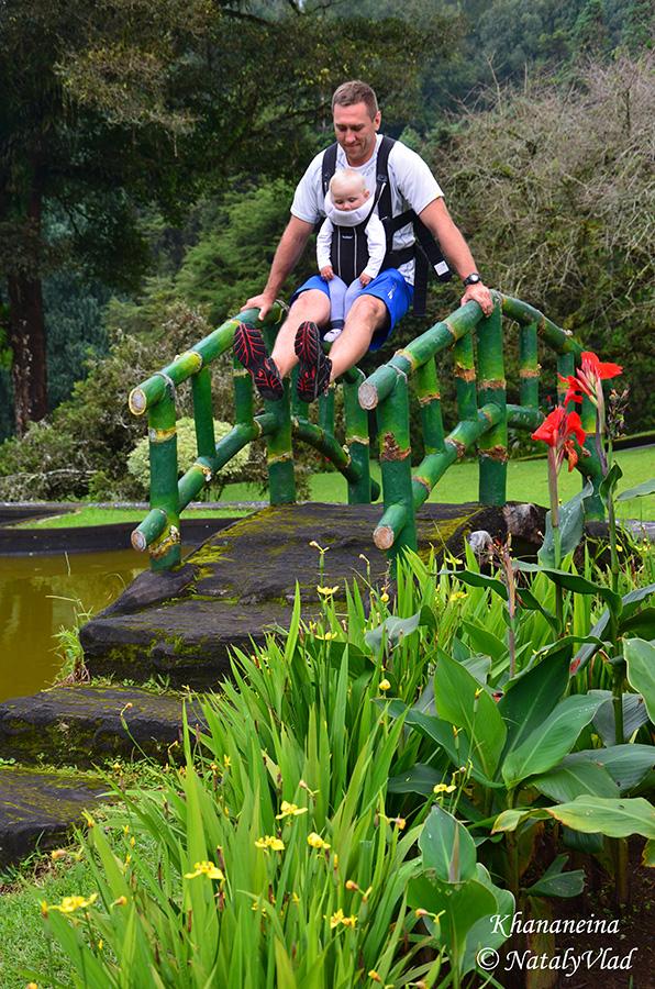 Бали Ботанический сад в Бедугул