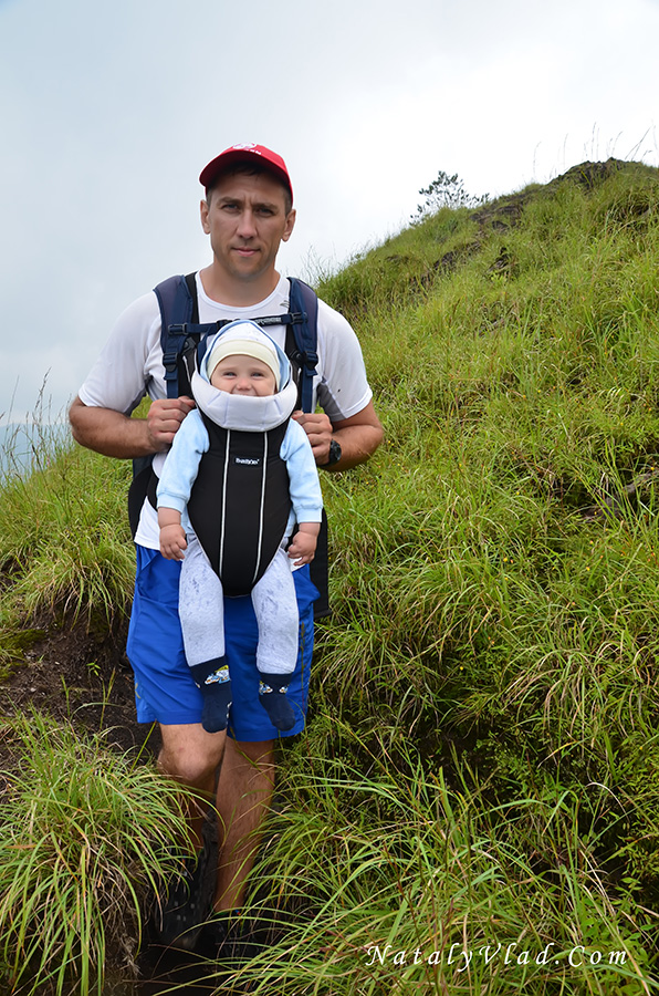 Бали Гора Батур Вулкан