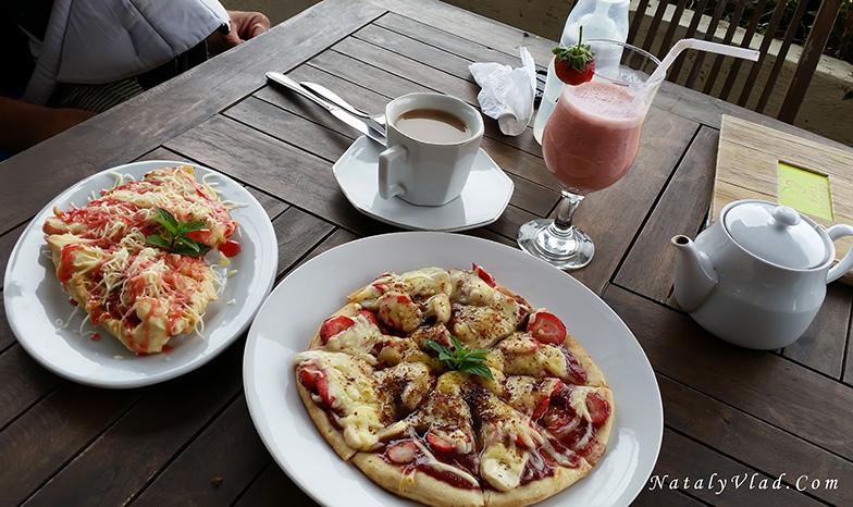 Отдых на Бали Отзывы Пицца из клубники