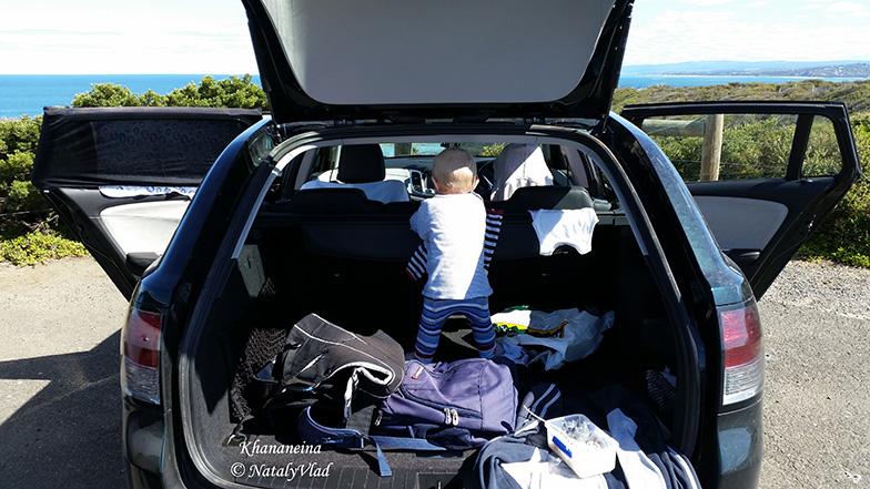 Наш малыш в машине