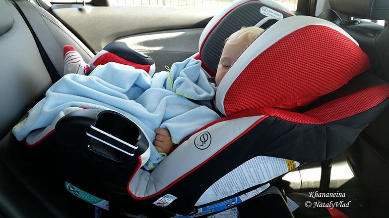 Австралия Детское автокресло