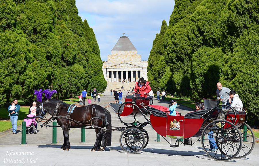 Мельбурн что посмотреть Сады и Парки