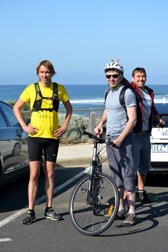 Спорт в Австралии 100км Surf Coast Century Run 2015
