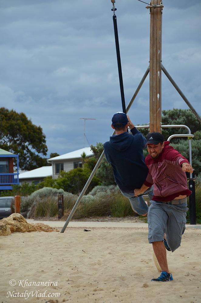 Детские площадки в Австралии фото