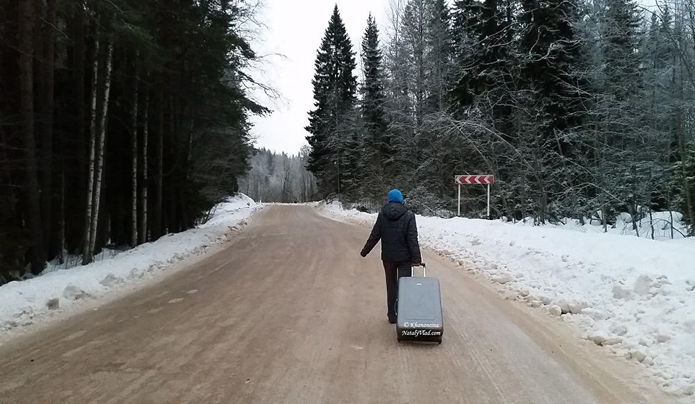 Путешествие по России зимой Фото