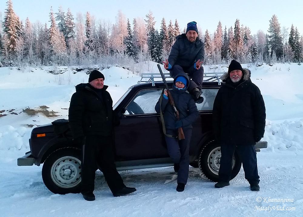 Стрельбище зимой Фото