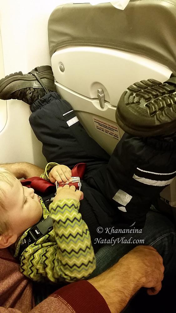 Путешествия с малышом Фото