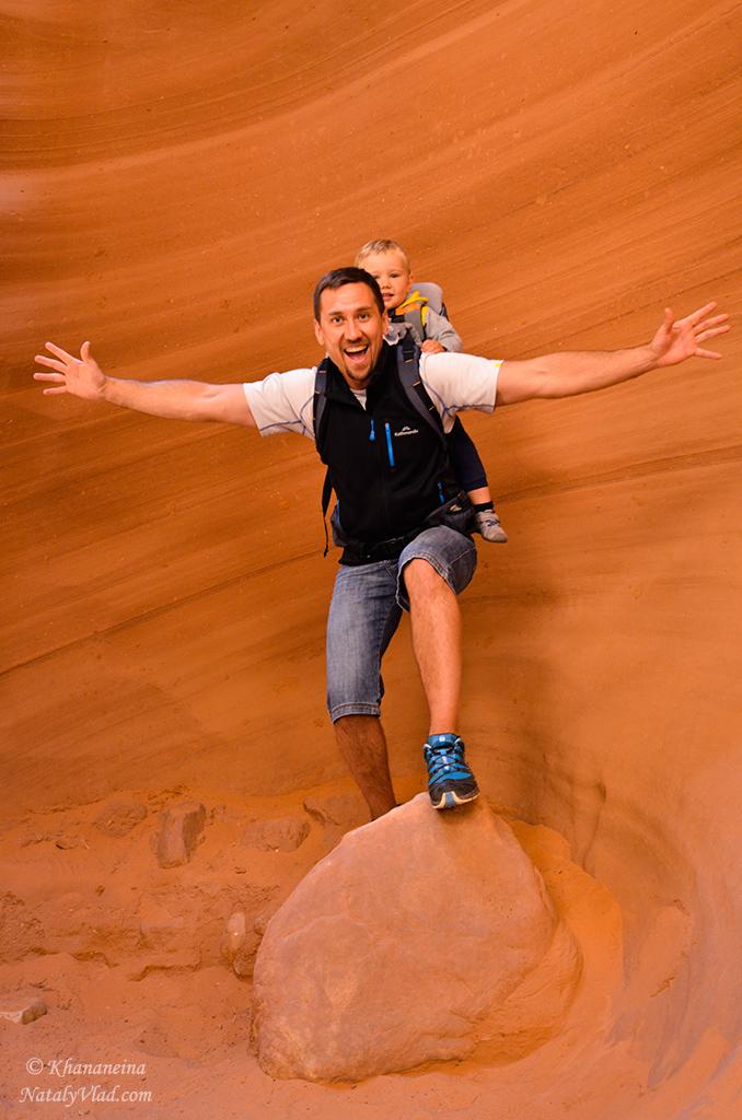 Каньон Антилопы Аризона Фото