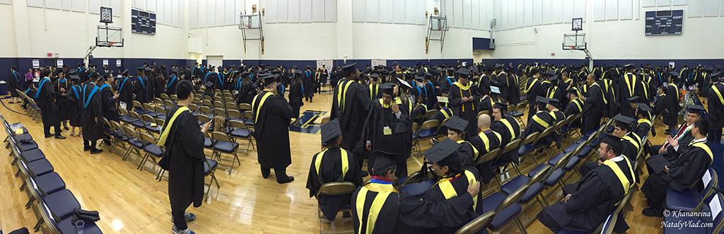 Выпускной в университете в Америке Фото